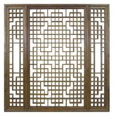 19th Century Chinese Window Screen