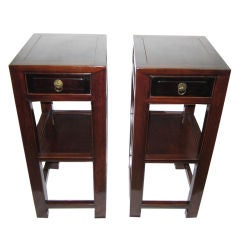 Pair of Table Stands, 19th Century