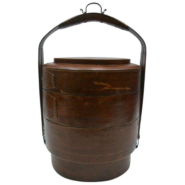 19th Century Basket Box