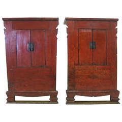 Pair of 19th Century Chinese Cabinets