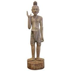 19th Century Burmese Statue