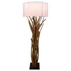 Twig Driftwood Floor Lamp