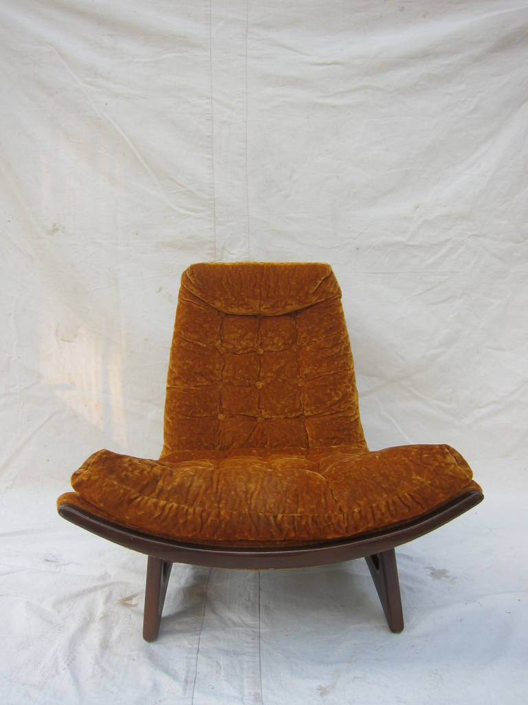 Mid Century Lounge Chair At 1stdibs