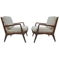 Mid Century Carlo Di Carli Loung Chairs