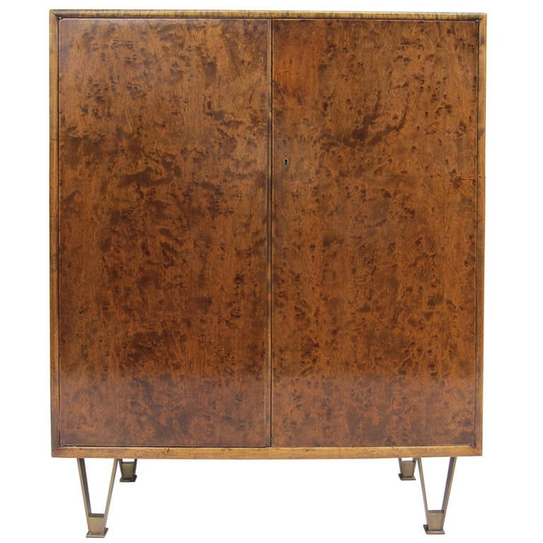 Italian dry bar cabinet at 1stdibs for Home dry bar furniture