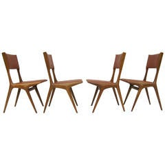 Set of Four Chairs by Carlo di Carli