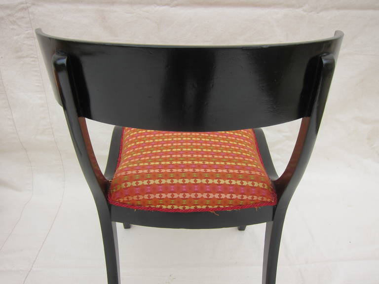 Pair of 19th Century Klismos Chairs For Sale 3