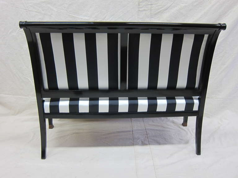 French Empire Sofa Bench Settee For Sale 1