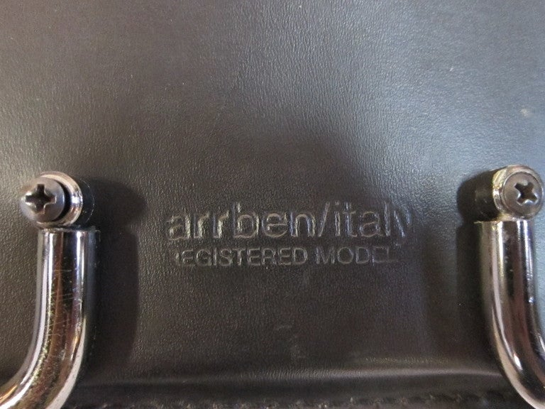 Arrben Leather Chairs  For Sale 1