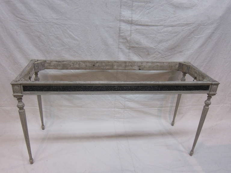 Gustavian Console Table For Sale 4