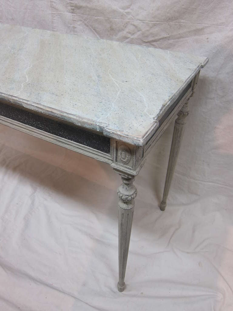 Gustavian Console Table For Sale 3