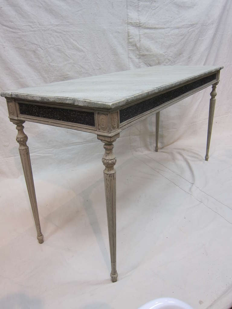 Gustavian Console Table For Sale 1