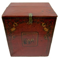 19th Century Mongolian Chest