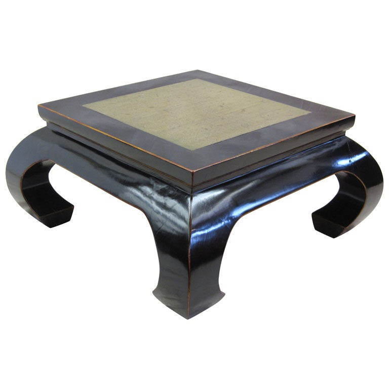 Stone Top Cocktail Table