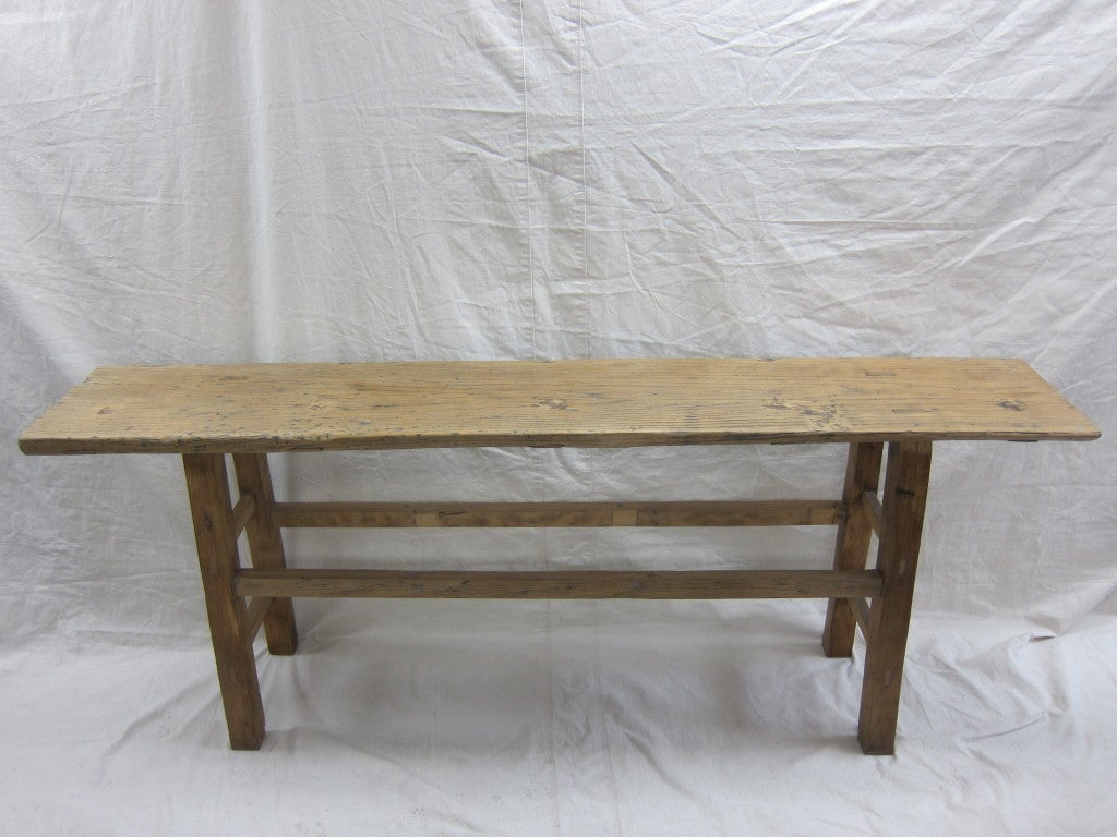 19th Century Nam Wood Console Table For Sale 2