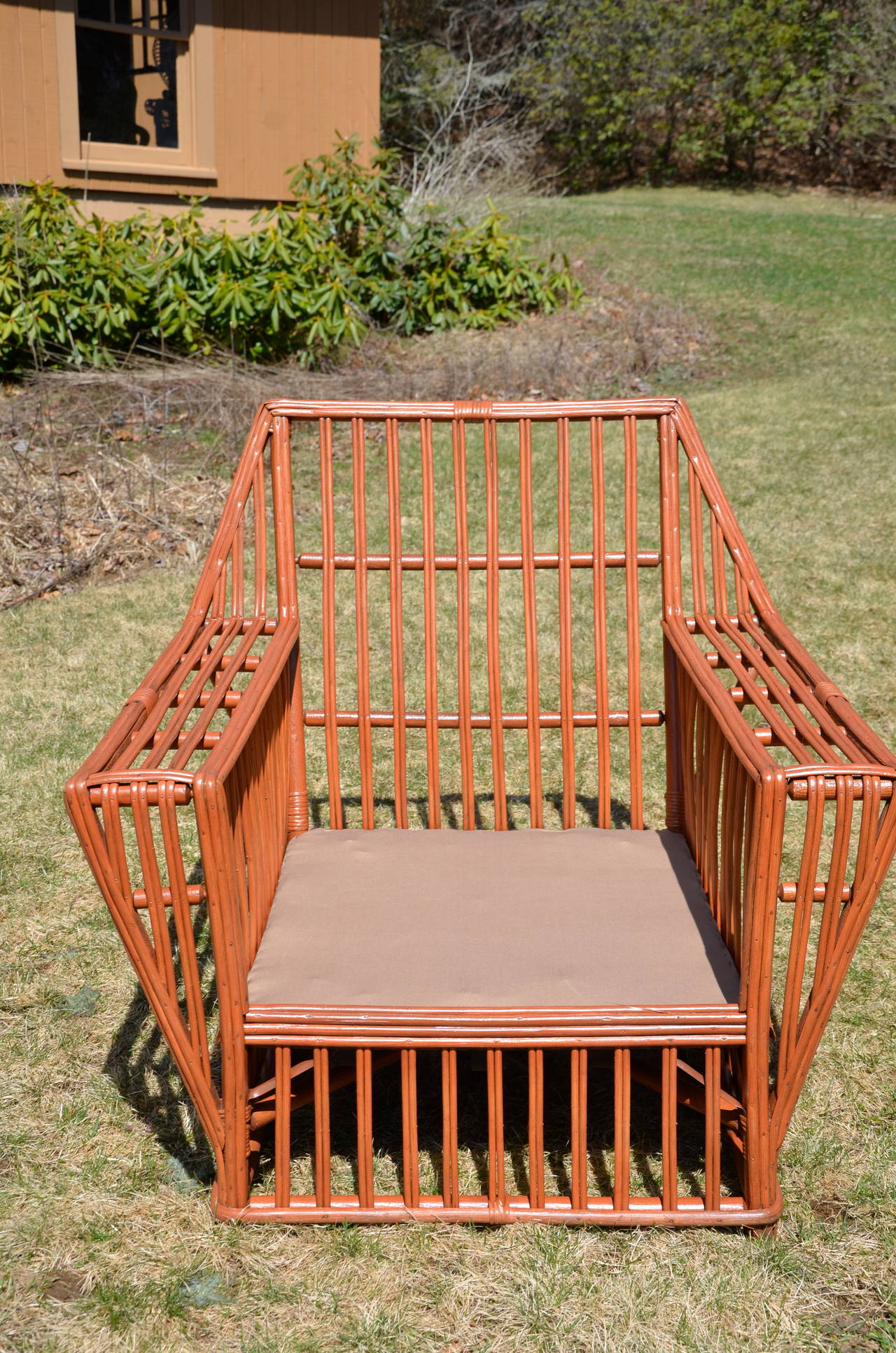 Antique Stick Wicker Seating Set For Sale At 1stdibs