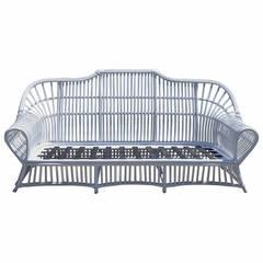 Vintage Ficks Reed Rattan Sofa
