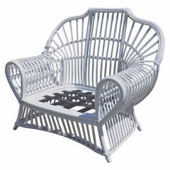 Vintage Ficks Reed Lounge Chair