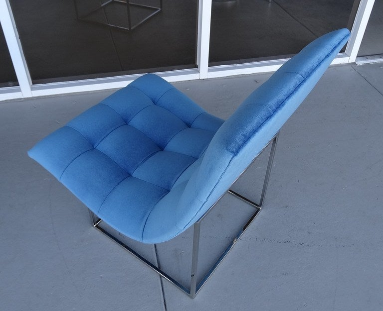 Pair of Milo Baughman Scoop Lounge Chairs image 3