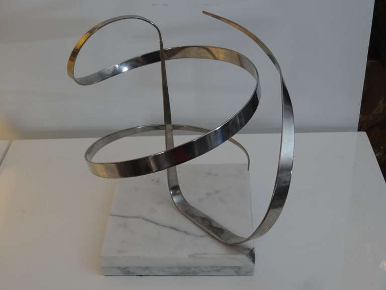 American Early Michael Cutler Kinetic Sculpture, 1977 For Sale