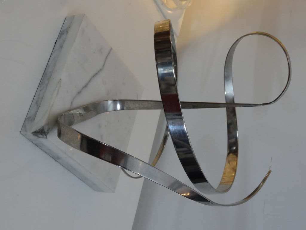 Early Michael Cutler Kinetic Sculpture, 1977 In Excellent Condition For Sale In Miami, FL