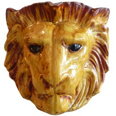 Large Lion Jardiniere by Anthony Redmile