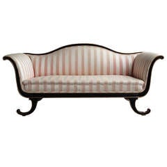 Neoclassical Sofa in the Style of Dorothy Draper