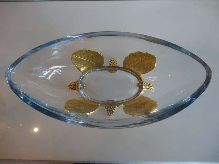 20th Century Mathias for Fondica Centerpiece and Candleholders For Sale