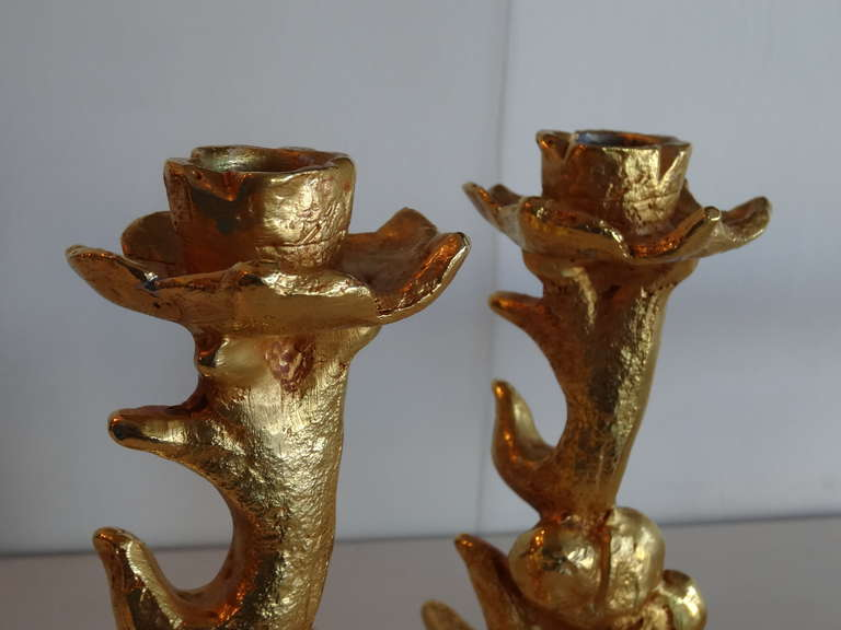 Mathias for Fondica Centerpiece and Candleholders For Sale 3