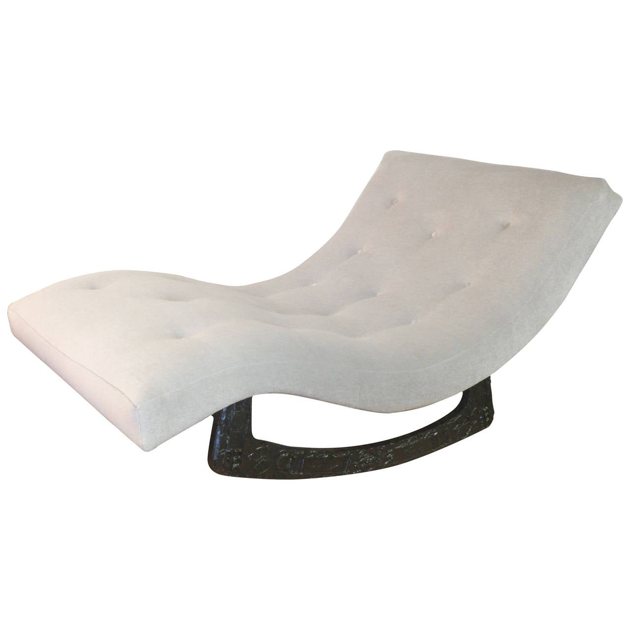 Rocking chaise by adrian pearsall at 1stdibs for Adrian pearsall rocking chaise