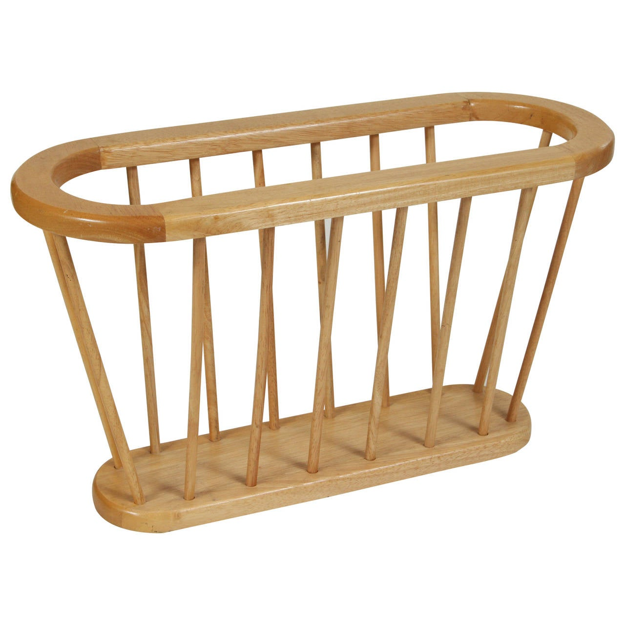Mid Century Wood Magazine Rack For Sale At 1stdibs. Full resolution  picture, nominally Width 1280 Height 1280 pixels, picture with #814C23.