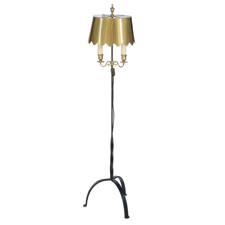 Vintage dorothy draper style floor lamp at 1stdibs for Draper 3 light tree floor lamp