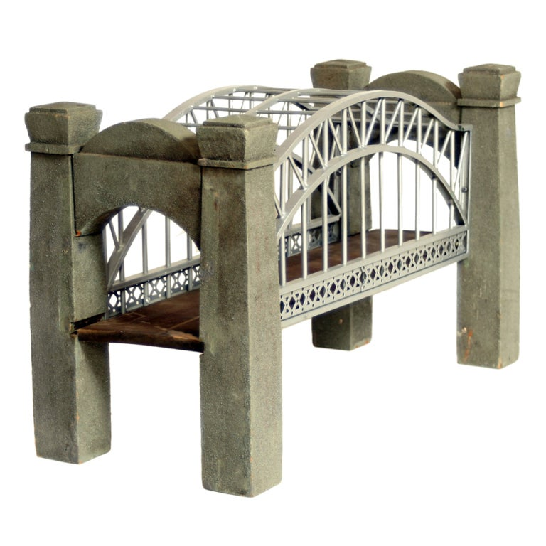 Replica of hell gate bridge at 1stdibs for Furniture hell s kitchen