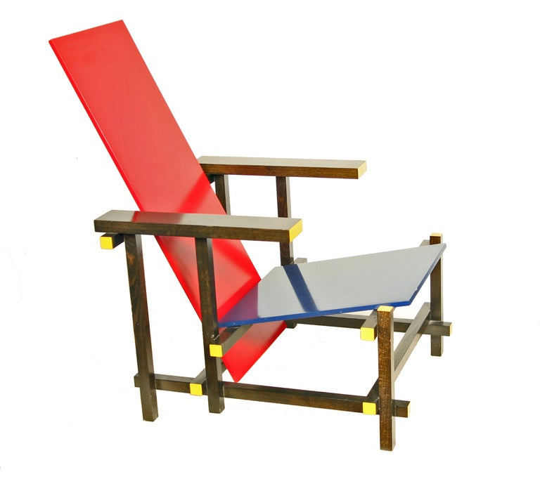 Gerrit rietveld furniture - Cassina Edition Of Gerrit Rietveld Chair At 1stdibs