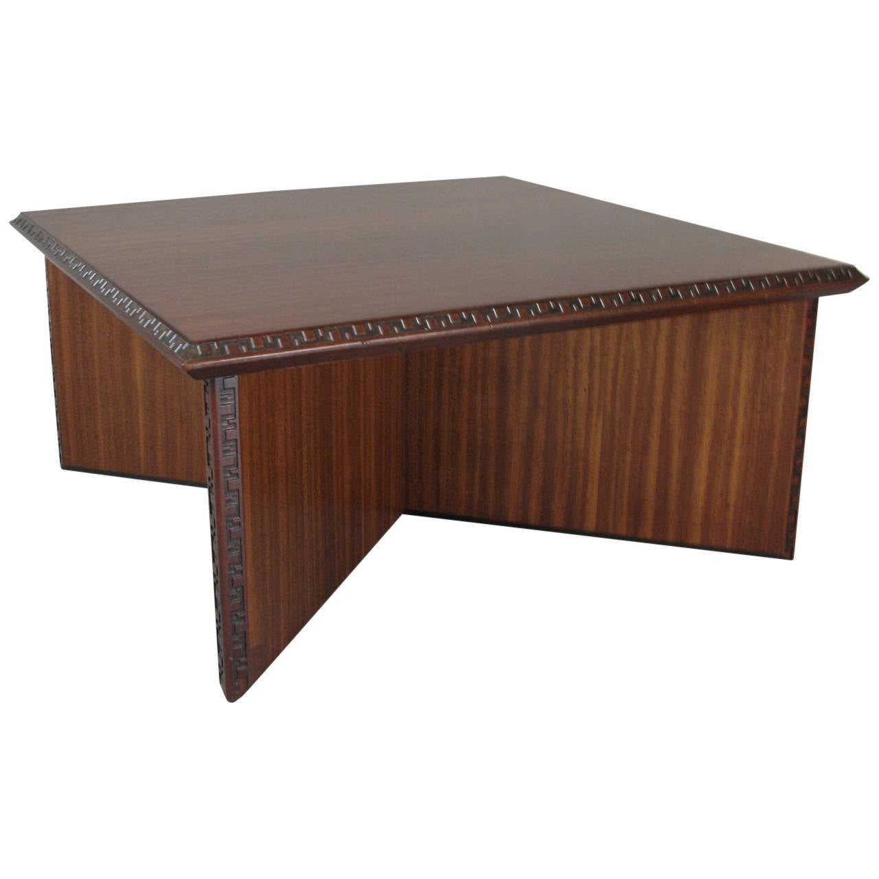 Mid Century Frank Lloyd Wright Coffee Table For Henredon At 1stdibs