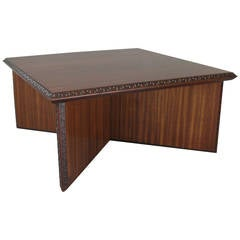 Mid-Century Frank Lloyd Wright Coffee Table for Henredon