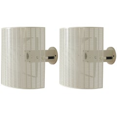 Pair of Mario Botta for Artemide Shogun Sconces