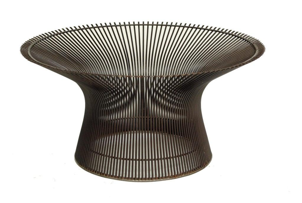 Warren Platner Coffee Table Base In Bronze At 1stdibs