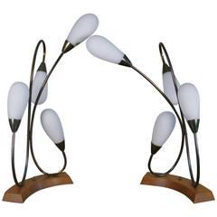 Pair of Mid-Century Italian Table Lamps