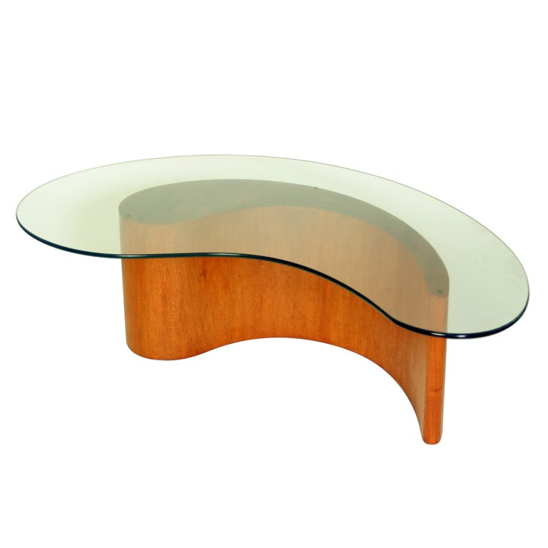 Rare Vladimir Kagan Coffee Table At 1stdibs