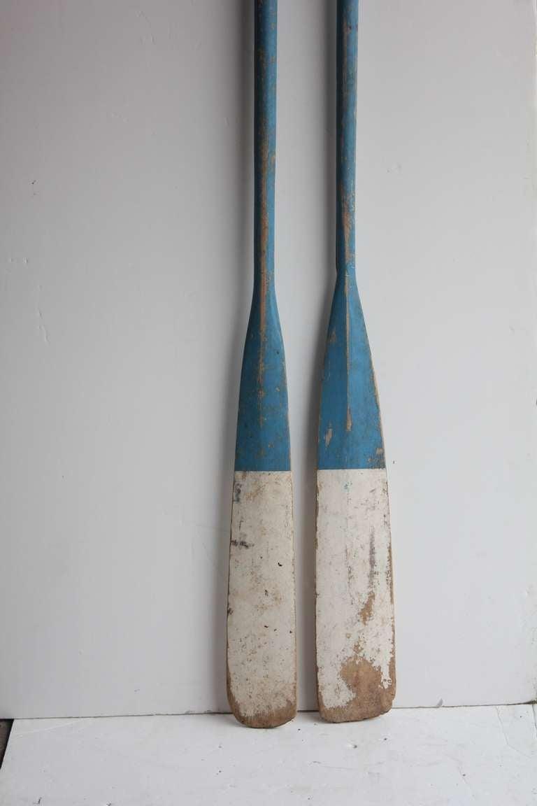 Vintage Wood Oars At 1stdibs