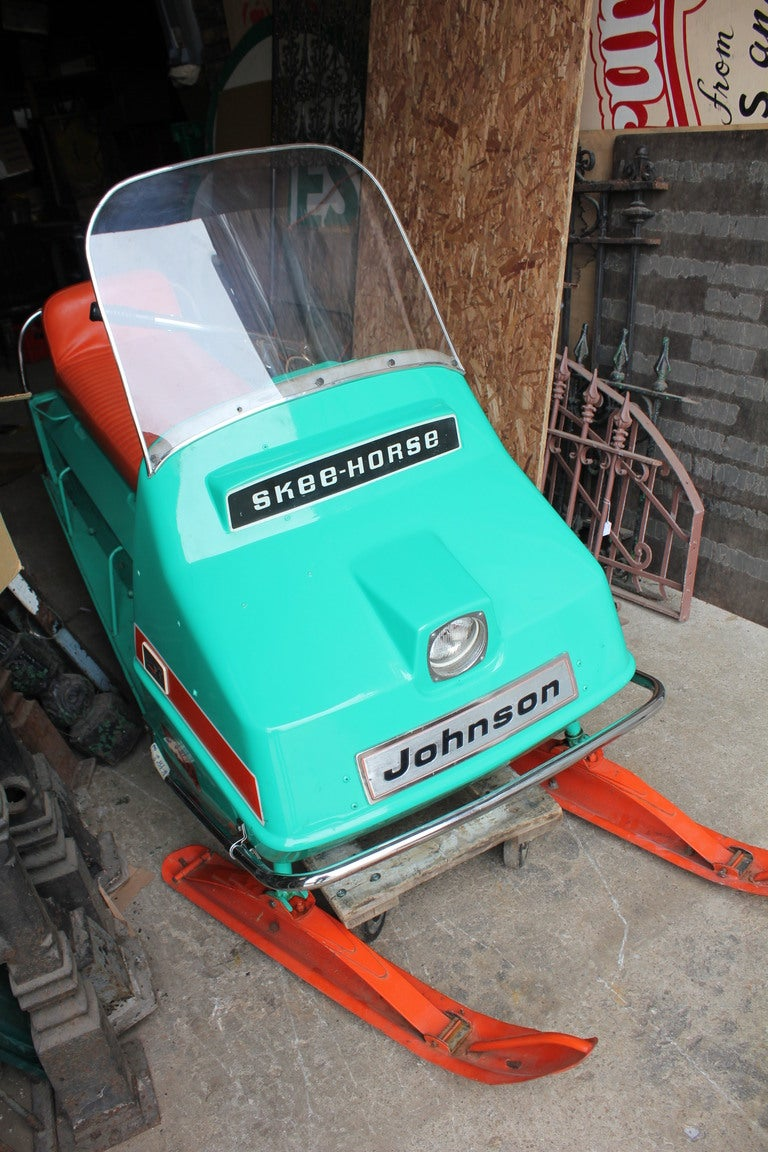 "1960's Johnson "" Skee-Horse"" SnowMobile image 3"