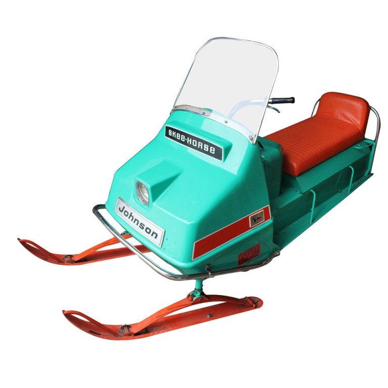 "1960's Johnson "" Skee-Horse"" SnowMobile"