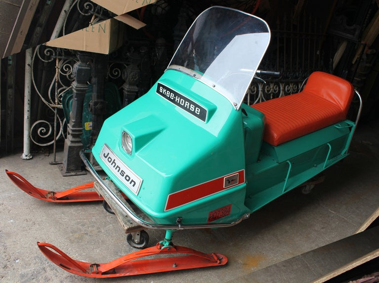 "1960's Johnson "" Skee-Horse"" SnowMobile image 2"