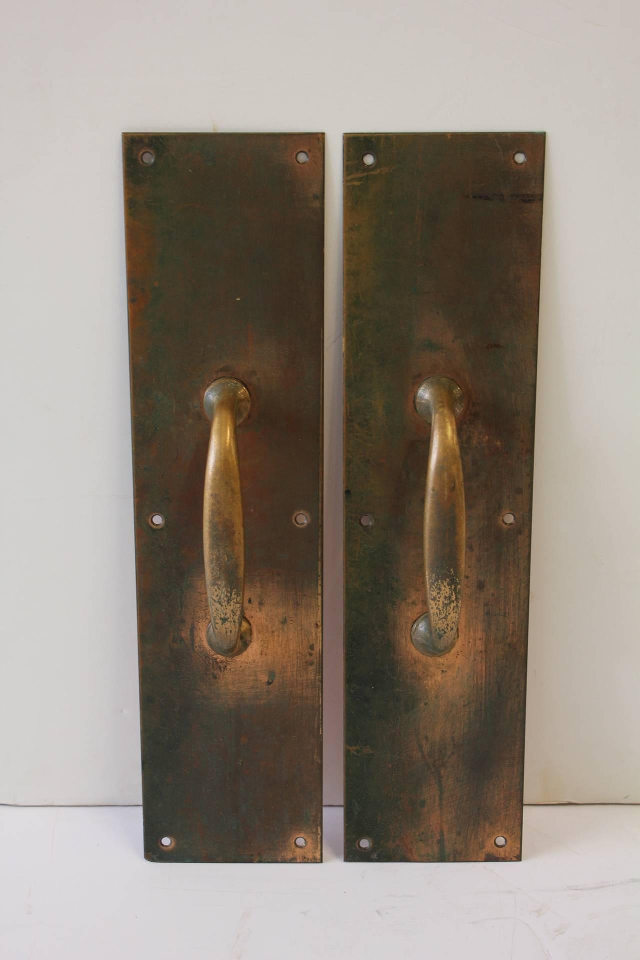 how to clean brass door furniture