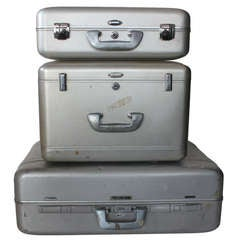 Mid Century Halliburton Suitcases