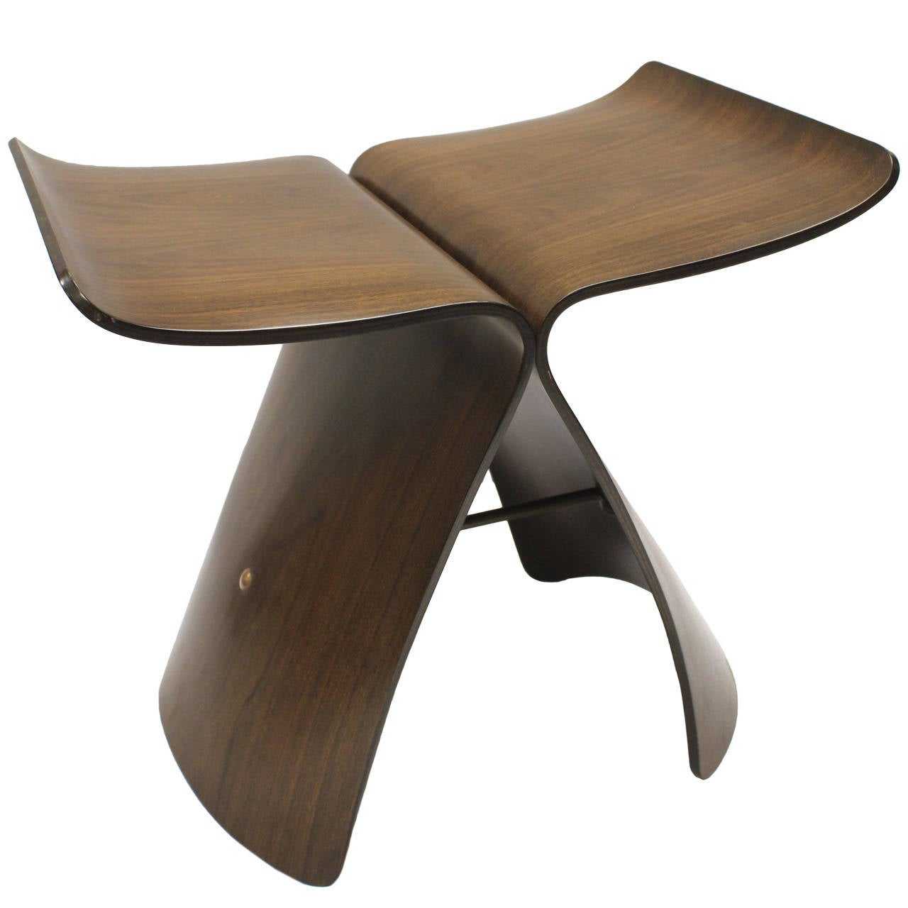 Butterfly chair sori yanagi - Butterfly Stool By Sori Yanagi For Tendo Mokko 1