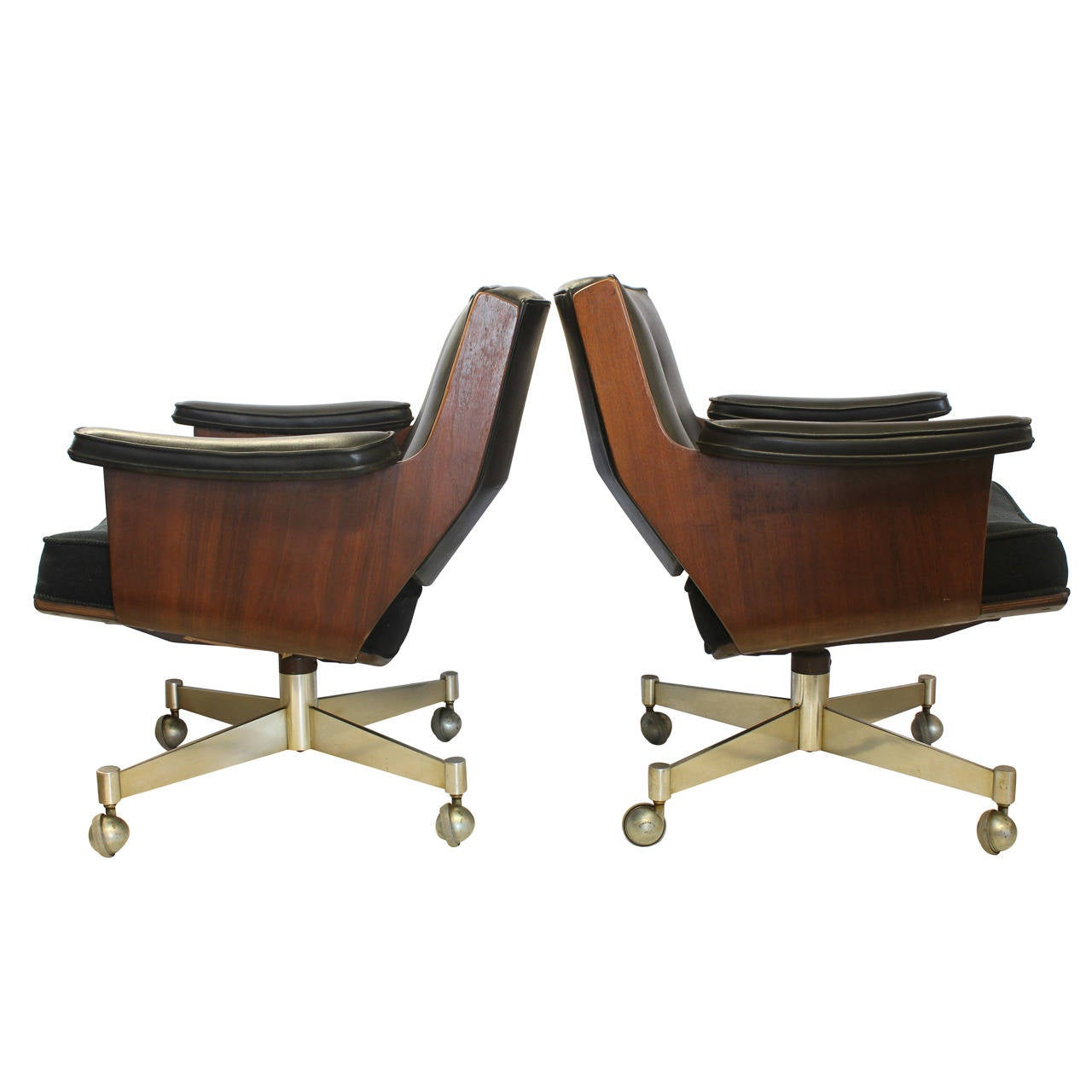 Executive Swivel Desk Chairs By Thonet For Sale