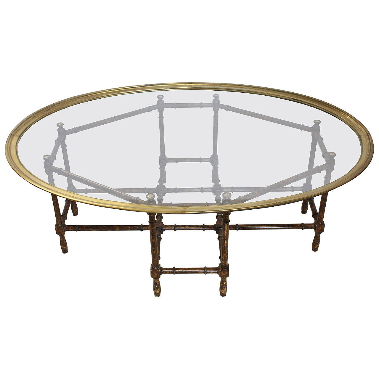 Stylish Coffee Table By Baker For Sale At 1stdibs