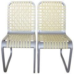 Mid Century Aluminum Chairs